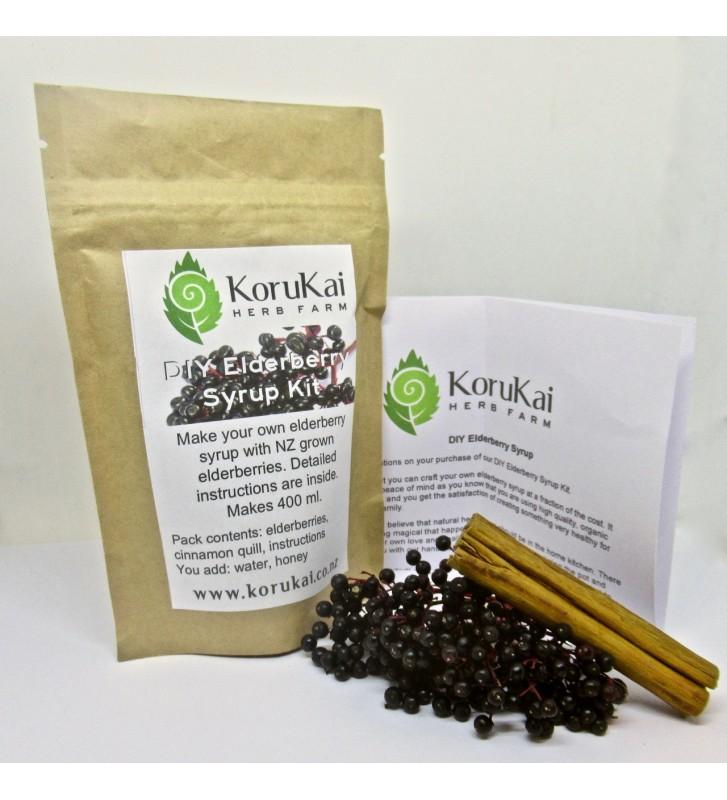 DIY Elderberry Syrup Kit