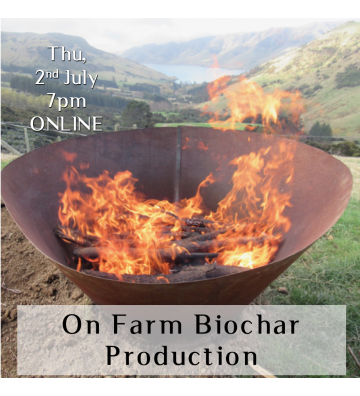 On Farm Biochar Production for Soil Health and Carbon Sequestration