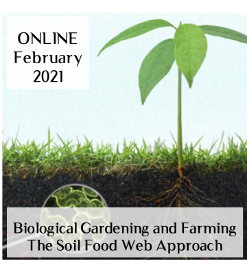 Biological Gardening and Farming  ONLINE course