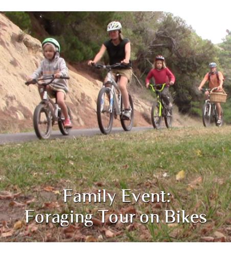 Foraging Tour on Bikes