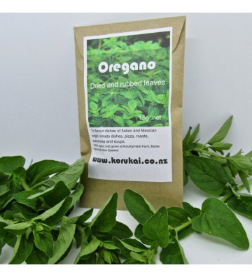 Organic oregano, dried