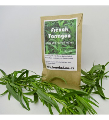 Organic tarragon, dried